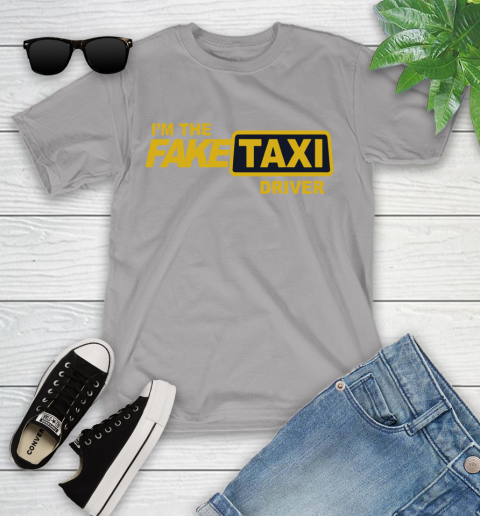 I am the Fake taxi driver Youth T-Shirt 4