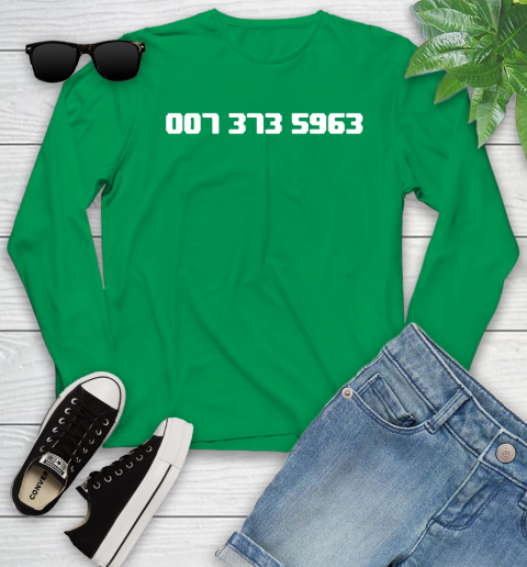007 373 shirt Youth Long Sleeve 7