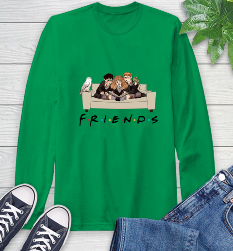 Harry Potter Ron And Hermione Friends Shirt Long Sleeve T-Shirt 5