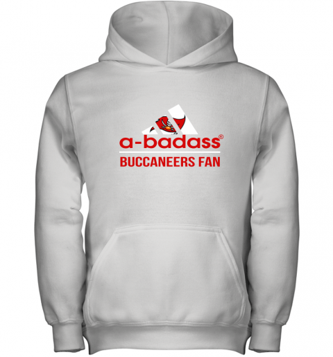 NFL A Badass Tampa Bay Buccaneers Fan Adidas Football Sports Youth Hoodie