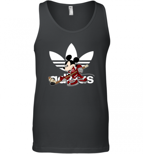 Adidas Logo Hockey Disney Mickey Mouse Tank Top