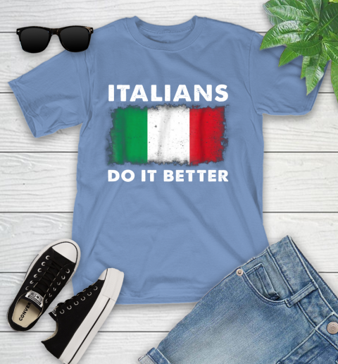 Italians Do It Better Youth T-Shirt 15