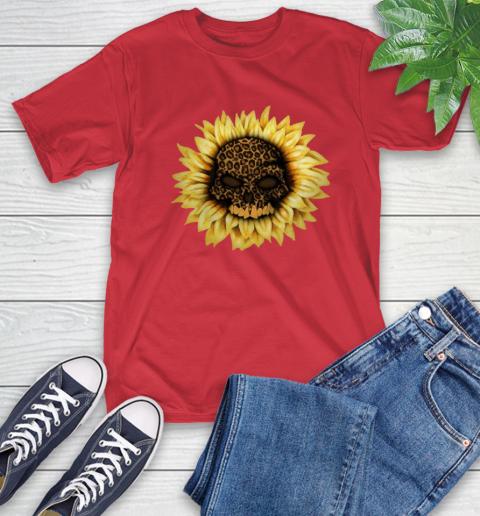 Sunflower Skull Panther T-Shirt 10