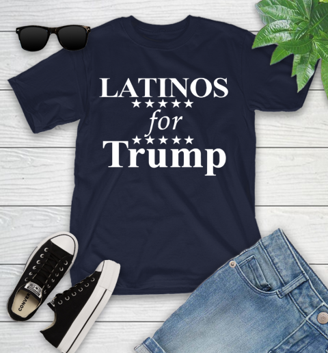 Latinos For Trump Youth T-Shirt 2