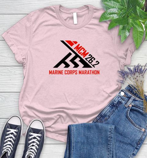 2018 Marine Corps Marathon Women's T-Shirt 8