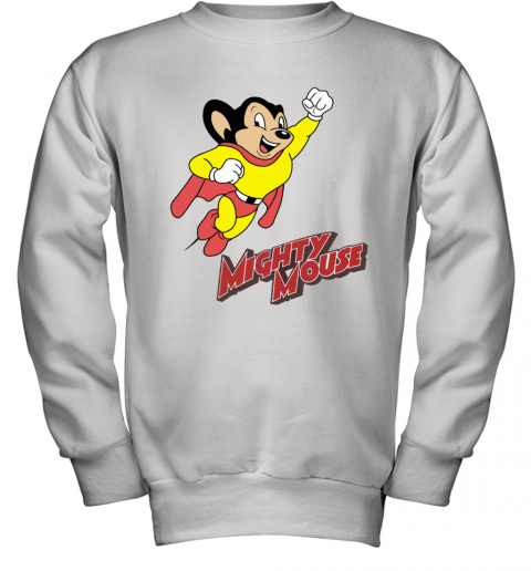 Mighty Mouse Classic Cartoon Youth Sweatshirt