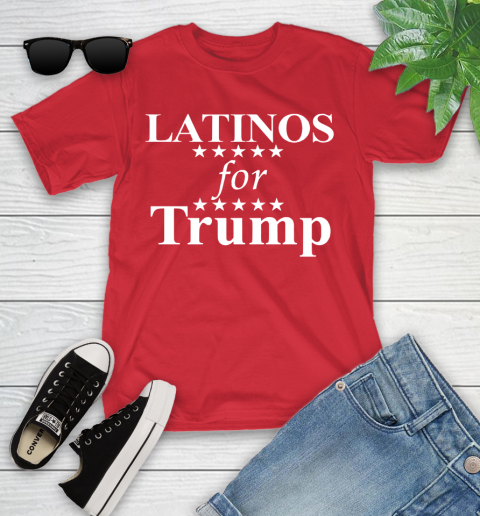 Latinos For Trump Youth T-Shirt 13