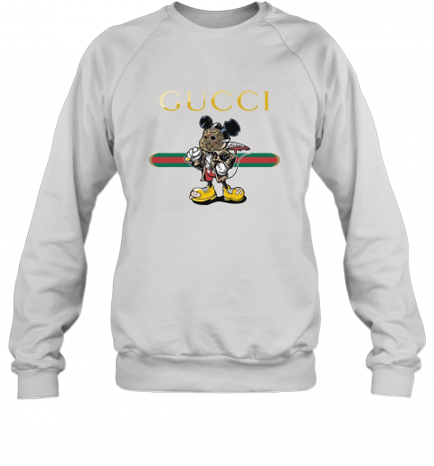 Gucci Jason Voorhees Mickey Mouse Sweatshirt