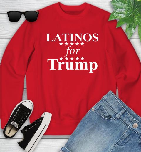 Latinos For Trump Youth Sweatshirt 8
