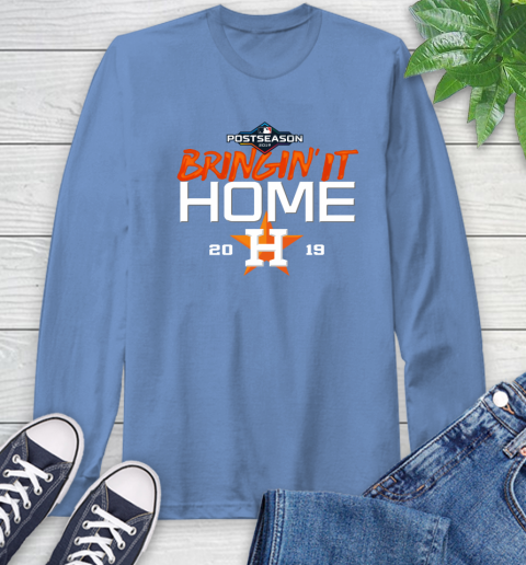 Bringing It Home Astros Long Sleeve T-Shirt 12