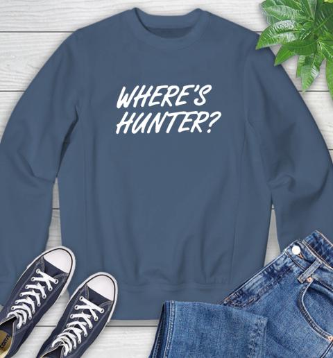 Where Is Hunter Sweatshirt 8