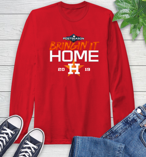 Bringing It Home Astros Long Sleeve T-Shirt 11