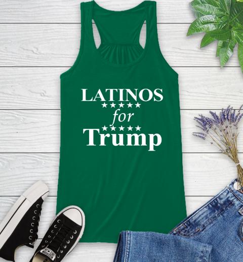 Latinos For Trump Racerback Tank 6