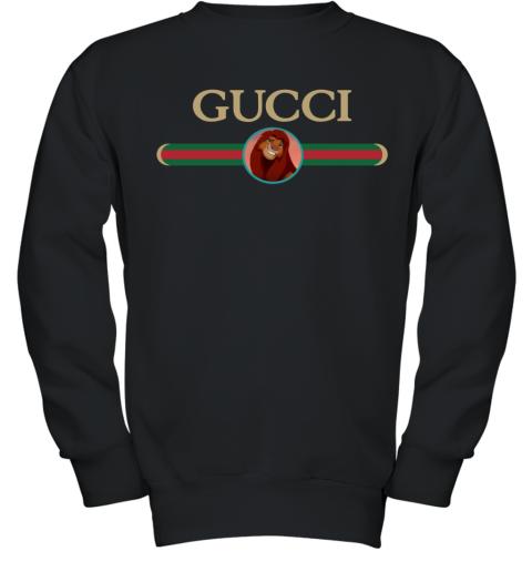 Lion King Simba Gucci Youth Sweatshirt