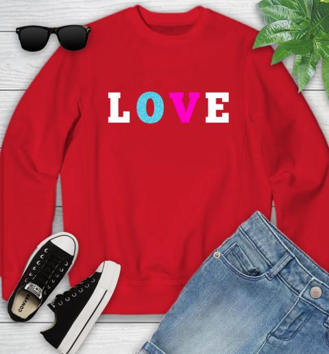 Love Shirt Savannah Guthrie Youth Sweatshirt 8