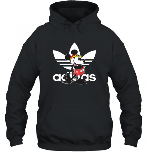 Adidas Logo Mickey Mouse Swimming Hoodie