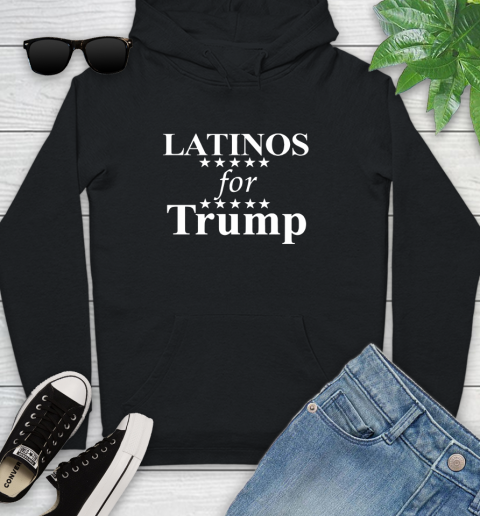 Latinos For Trump Youth Hoodie