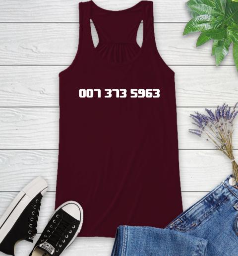 007 373 shirt Racerback Tank 2