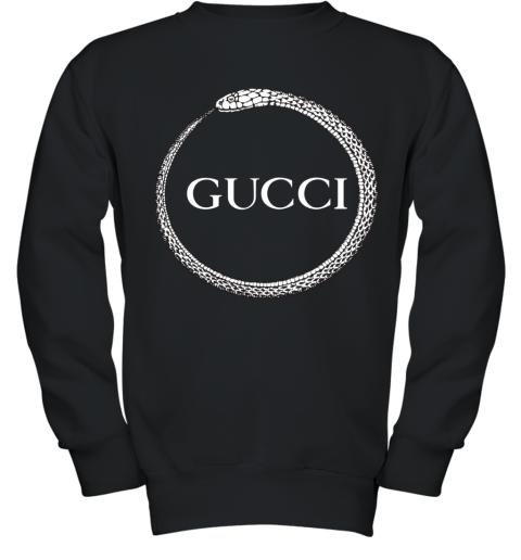Gucci Ouroboros Print Youth Sweatshirt