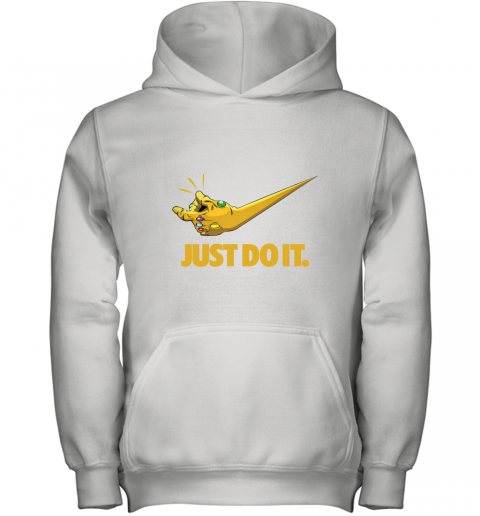 Just Do It Infinity Gauntlet – Thanos Nike Logo Youth Hoodie
