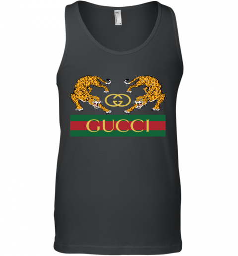 Gucci Jaguar Gucci Polo Tank Top
