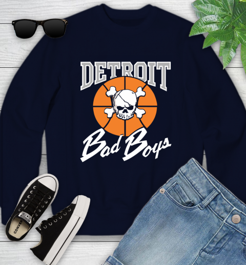Detroit Bad Boys Youth Sweatshirt 2