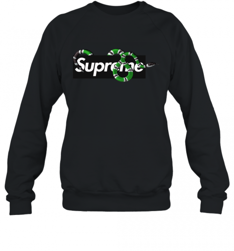 Gucci King Snake x Supreme Sweatshirt