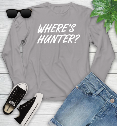 Where Is Hunter Youth Long Sleeve 5