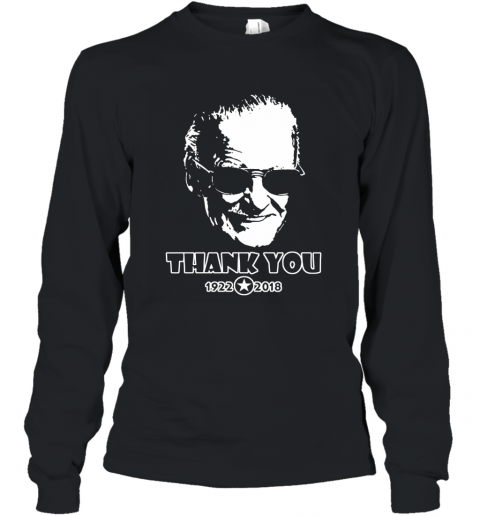 Marvel stan lee thanks for the memories Long Sleeve T-Shirt