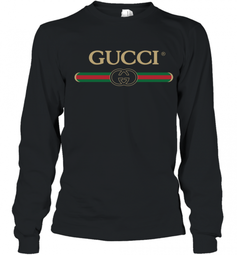 Gucci Shirt Logo Youth Long Sleeve T-Shirt