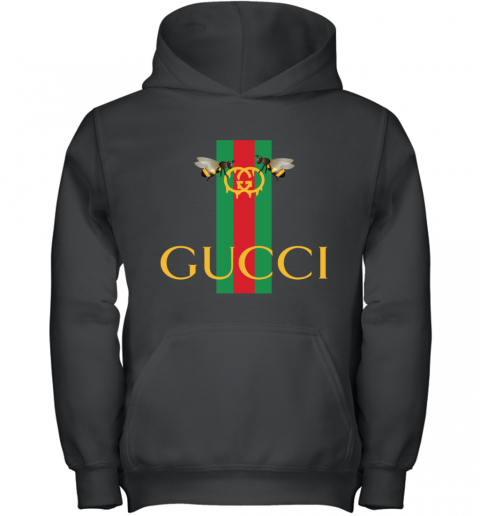 Gucci Bee Shirt Logo 2019 Youth Hoodie