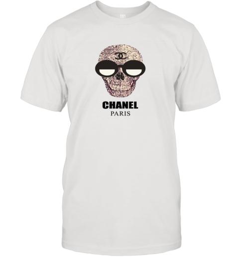 Chanel Fashion Skull Logo T-Shirt