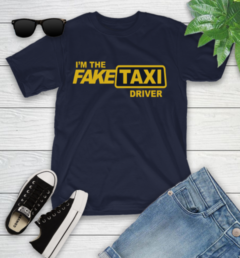 I am the Fake taxi driver Youth T-Shirt 3