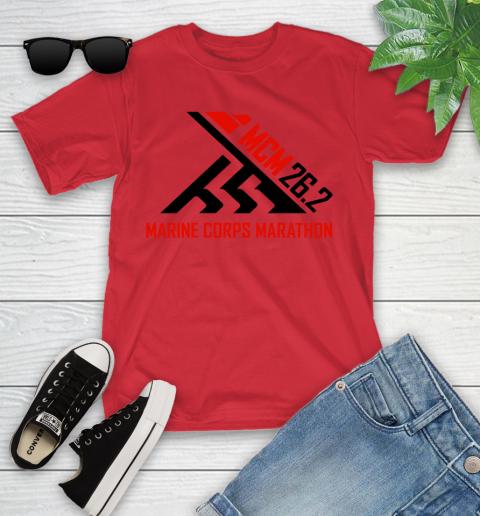 2018 Marine Corps Marathon Youth T-Shirt 8