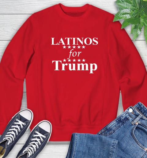 Latinos For Trump Sweatshirt 10