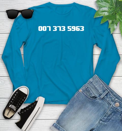 007 373 shirt Youth Long Sleeve 8