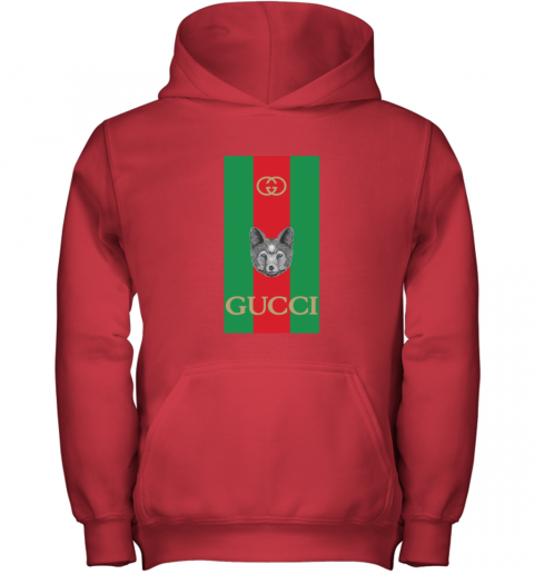 Gucci Logo Wolf Youth Hoodie