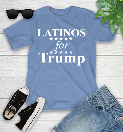 Latinos For Trump Youth T-Shirt 15