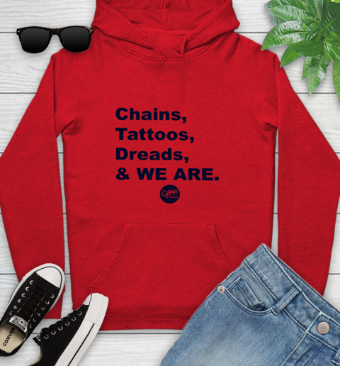 Penn State Chains Tattoos Dreads And We Are Youth Hoodie 7