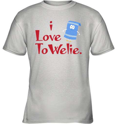 I LOVE TOWELIE Youth T-Shirt