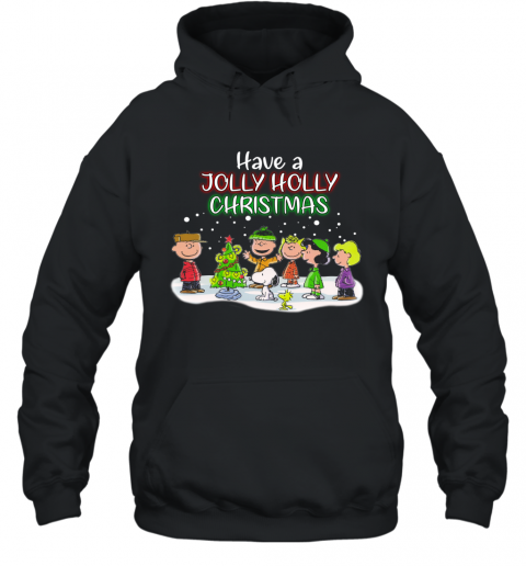 Snoopy  Have A Holly Jolly Christmas Ugly Hoodie