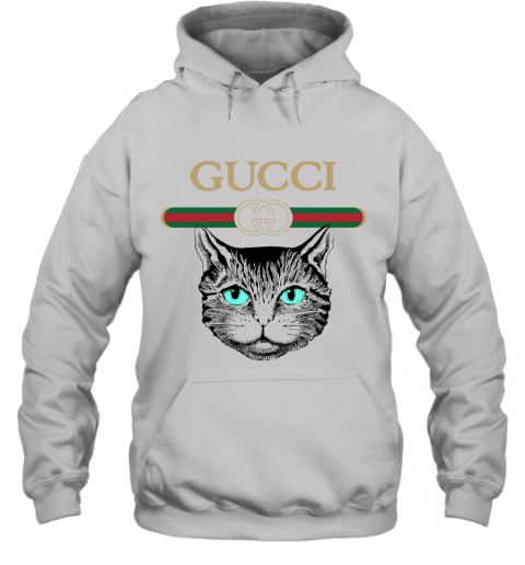 Gucci Logo Black Cat Secret Hoodie