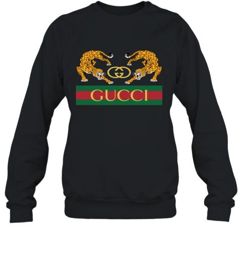 Gucci Jaguar Gucci Polo Sweatshirt