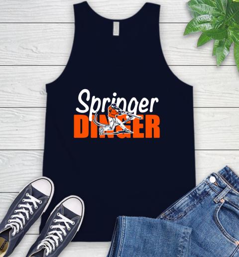 Houston Springer Dinger Fan Shirt Tank Top 2