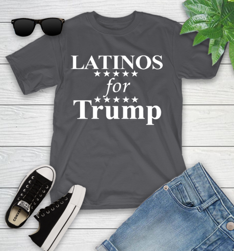 Latinos For Trump Youth T-Shirt 6