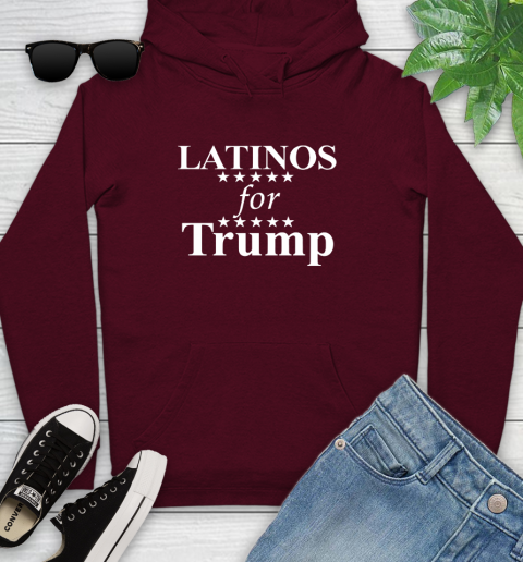 Latinos For Trump Youth Hoodie 7