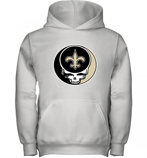 NFL New Orleans Saints Grateful Dead Rock Band Football Sports Youth Hoodie