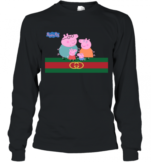 Peppa Pig Gucci Family Limited Long Sleeve T-Shirt