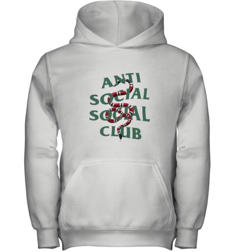 Anti Social Social Club ASSC Gucci Snake Youth Hoodie