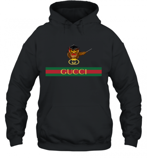 Gucci Logo Owl Premium Hoodie